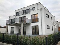 Wohnung Wöllstadt | Schicke barrierefreie 3-Zimmer-Neubau-EG-Wohnung zur Miete im 3-FH in Nieder-Wöllstadt