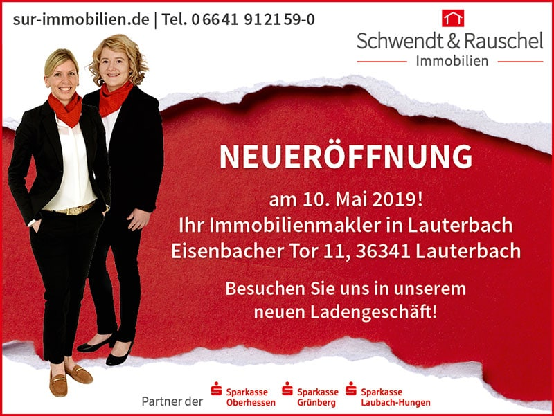 Neueröffnung Ladengeschäft Lauterbach