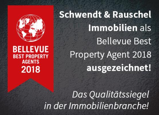 Bellevue Best Property Agent 2018_Auszeichnung_Qualitätssiegel