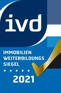 IVD Immobilien-Weiterbildungssiegel 2021