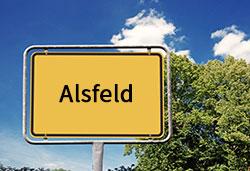 Ortsschild Alsfeld (©Cevahir - stock.adobe.com)