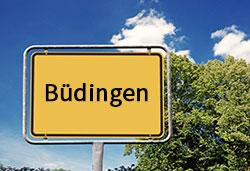 Ortsschild Büdingen (©Cevahir - stock.adobe.com)