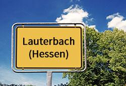 Ortsschild Lauterbach (©Cevahir - stock.adobe.com)