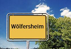 Ortsschild Wölfersheim (©Cevahir - stock.adobe.com)