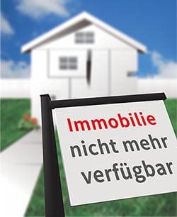 Immobilie nicht mehr verfügbar